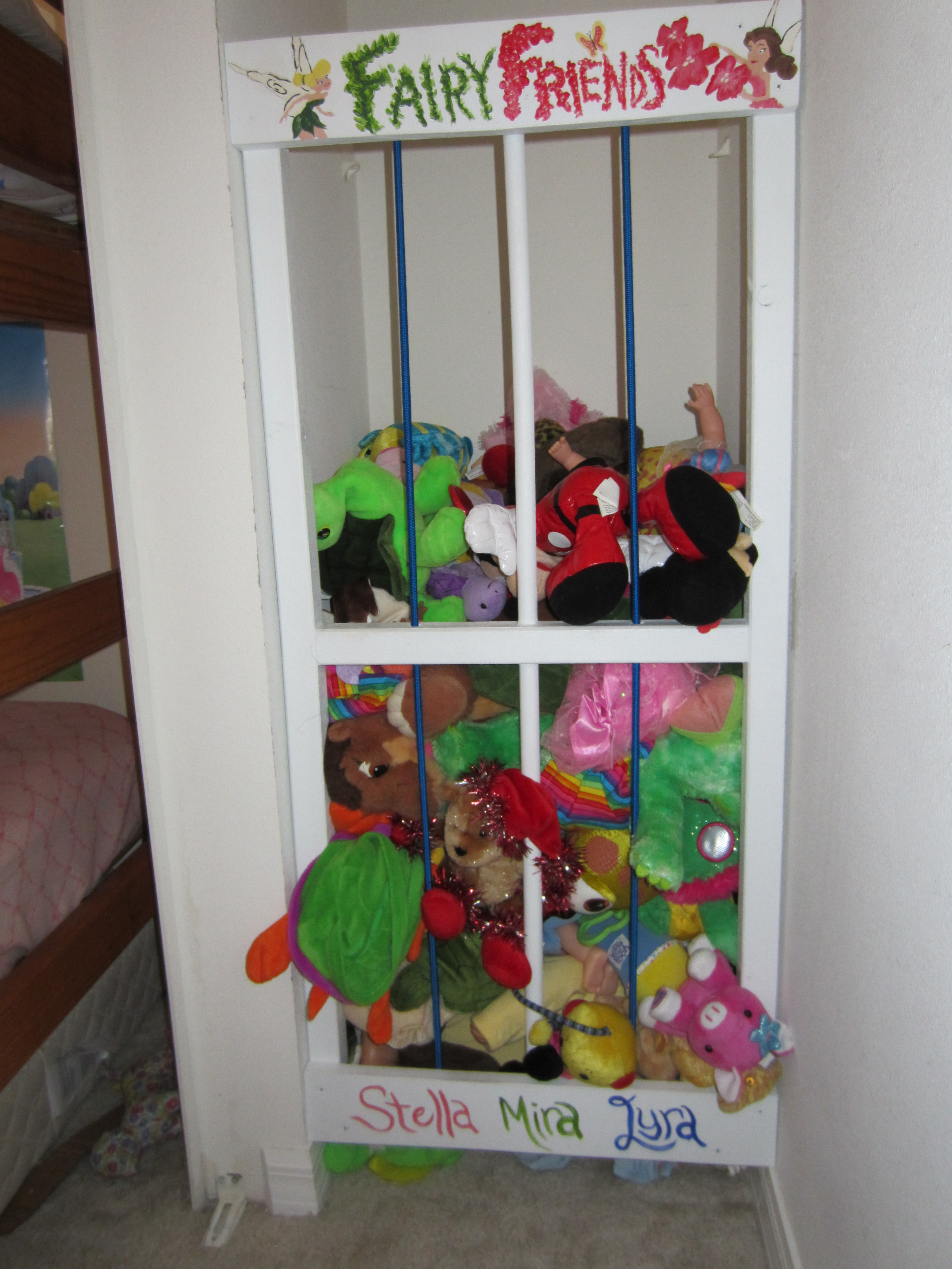 Are you the sort of person who sees this stuffed animal storage ...